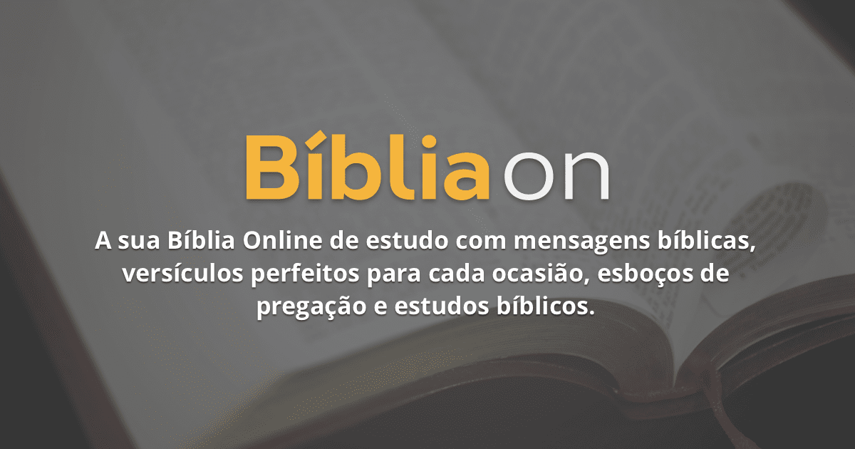 Versículos Sobre Família Bíblia